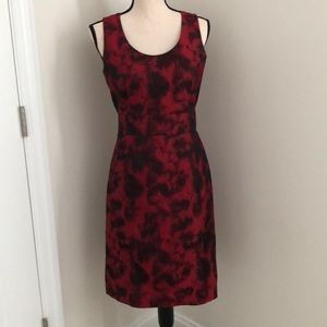 Banana Republic lined sleeveless dress